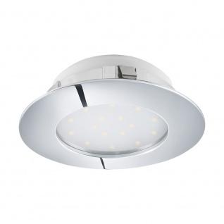Eglo 95868 Pineda LED Einbauleuchte 1000lm Chrom