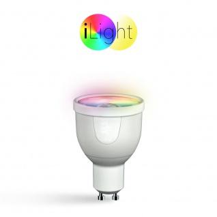 iLight GU10 LED Spot 5 W / RGBW Farbwechsel / Wifi Steuerung iPhone/iPad / LED-Lampe