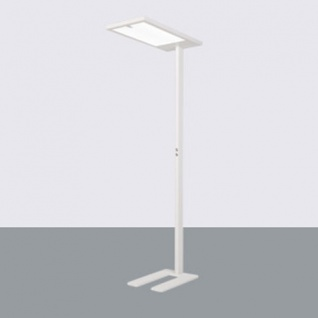 Kiteo LED Büro-Stehleuchte K-Virtus II HCL ZigBee 3.0 Human Centric Lighting