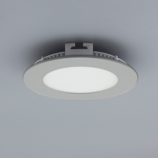 Licht-Design 30842 Einbau LED-Panel 200lm Dimmbar Ø 9cm Neutral Silber