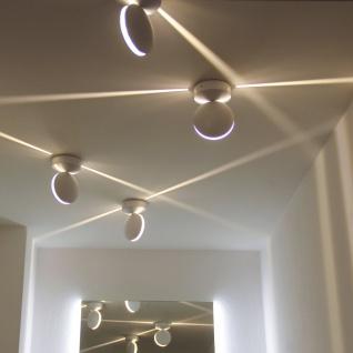 Licht-Trend Orio LED-Effekt-Außenwandleuchte 700lm Weiss Wandlampe