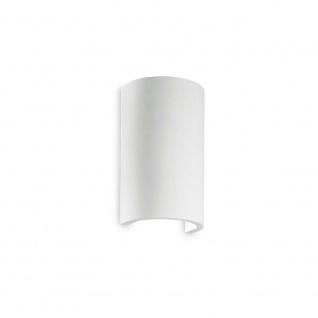 Ideal Lux Wandleuchte Flash Gesso Rund Weiß 214696