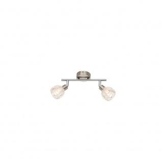 Globo 56180-2 Strahler Nickel-Matt Chrom 2xG9 LED