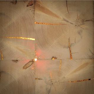 Almleuchten W1 Altholz Wand-/Deckenleuchte mit flächigem Licht Holz-Wandlampe - Vorschau 4