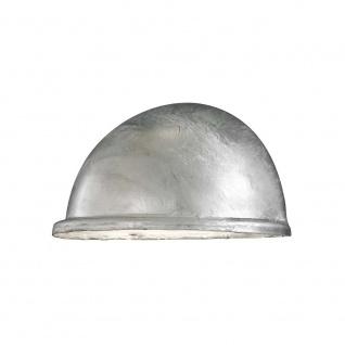 Konstsmide 7325-320 Torino Aussen-Wandleuchte galvanisierter Stahl Acrylglas