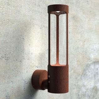 Nordlux Helix LED Aussen Wandleuchte rostfarben (LT)