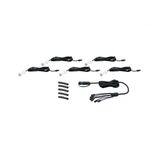 Paulmann LED Plug & Shine Einbauleuchten-Set MicroPen II IP67 24V 5x0, 22W 3000K 93694