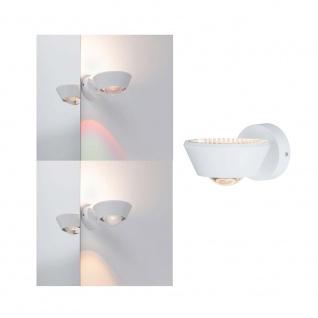 Paulmann Wandleuchte Sabik IP44 LED dimmbar 13W Weiß-Matt 230V 70946