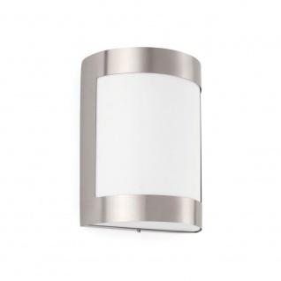 Außenwandlampe CELA-1 IP54 Nickel-Matt