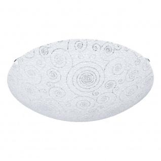 Eglo 93535 Riconto LED Wand- & Deckenleuchte Ø 31, 5cm Weiß Klar