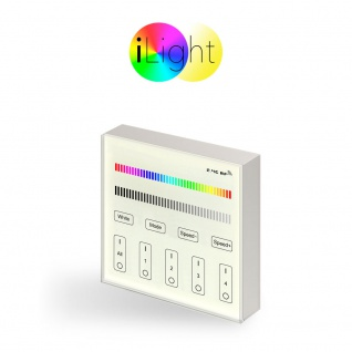 Starter-Set 3x E27 iLight LED + Touch-Panel RGBW LED Leuchtmittel Lampe - Vorschau 3