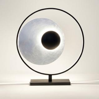 Holländer 300 K 12234 S Tischleuchte 4-flammig Satellite Eisen Schwarz-Silber
