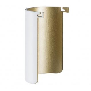 Paulmann Dekor für AmbientLED Pollerleuchte Weiß-Matt Gold 93813