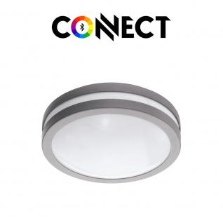 Connect LED Aussenwandlampe rund 1400lm IP44 Warmweiß