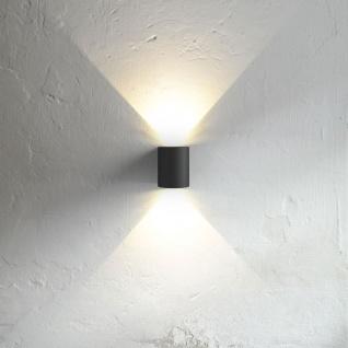 nordlux canto led aussen wandleuchte 700 lumen wandlampe aussenlampe schwarz kaufen bei. Black Bedroom Furniture Sets. Home Design Ideas