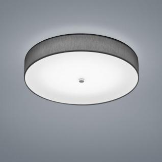 LED Deckenleuchte Bora Nickel-Chrom, Anthrazit