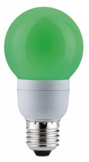 Paulmann Energiesparlampe Globe 60 Color 5W E27 Grün 88028