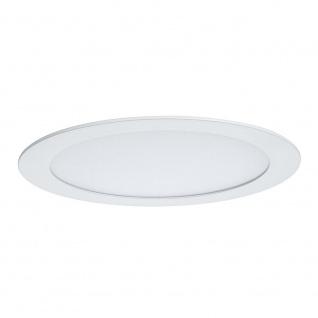 Paulmann Premium EBL Set Panel rund LED 1x6, 5W 2700K 8VA 180mm Weiß m Alu 92714 - Vorschau 2