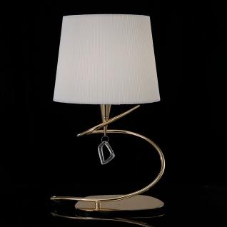 Mantra Mara Tischlampe breit