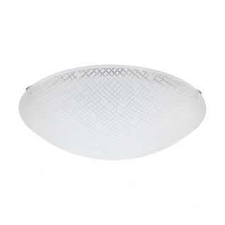 Eglo 96115 Margitta 1 LED Deckenleuchte Ø 31, 5cm 950lm Weiß