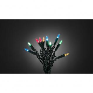 LED Minilichterkette One String mit 8 Funktionen 140 bunte Dioden für Innen