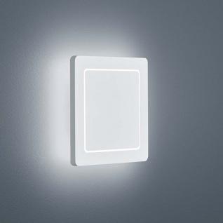 Helestra LED Außen-Wandlampe Fogo IP54 Weiß
