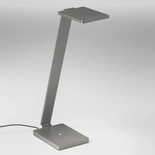 Licht-Trend Magis 1 LED-Tischleuchte mit Touchdimmer & USB 800lm Alu-Matt