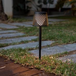 Licht-Trend Steh- und Tischleuchte Greta 5 in 1 verstellbar mit Erdspieß Schwarz