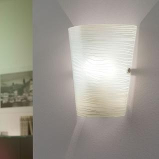 Eglo 91856 Caprice Wand- & Deckenleuchte Weiß Mit Dekor Chrom