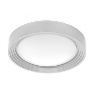 Eglo 95692 Ontaneda 1 LED Wand- & Deckenleuchte 1100lm Silber Weiß
