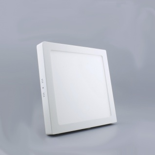 LED Deckenleuchte 30x30cm Warmweiß 2000lm Weiß