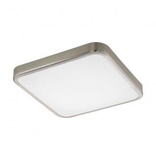 Eglo 96231 Manilva 1 LED Wand- & Deckenleuchte 1500lm Nickel-Matt Weiß