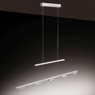 Licht-Trend LED Zug-Hängeleuchte/ 5 x 5W LED dimmbar 105cm Alu-matt Hängelampe