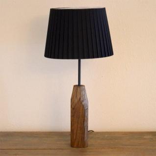 Licht-Trend Forest Retro Holz-Tischleuchte mit Vintage Look Tischlampe