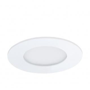 Eglo 96164 Fueva 1 LED Einbaustrahler Ø 8, 5cm 360lm Weiß