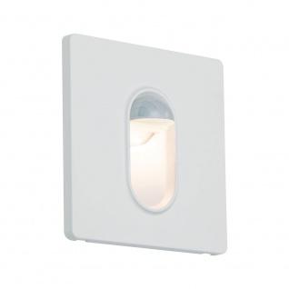 Licht-Trend LED Wandeinbauleuchte Box 7, 8 x 7, 8cm mit Bewegungsmelder 100lm Weiß inkl. Leuchtmittel
