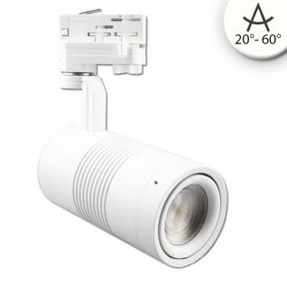 3-Phasen Power-LED Strahler 3600lm 35W 4000K neutral Weiß