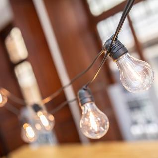 Licht-Trend LED-Girlande Allegra 10-flammig Schwarz