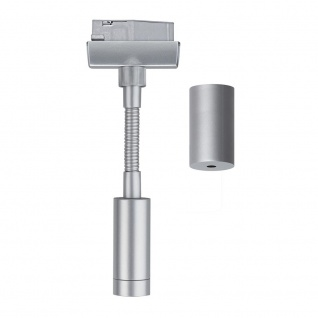 Paulmann URail System Flex Pendel Adapter Chrom matt 230V Metall Kunststoff