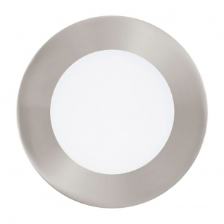 Eglo 95467 Fueva 1 LED Einbauspot Ø 12cm 700lm Nickel-Matt