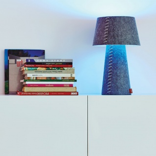 Moree Alice LED Tischleuchte aus Filz Grau Tischlampe