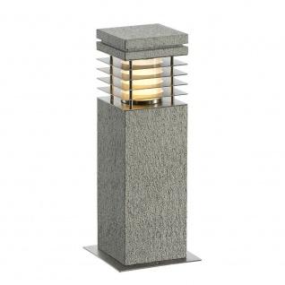 SLV Arrock Granite 40 Stehleuchte Granit salt & pepper E27 max. 15W 231410
