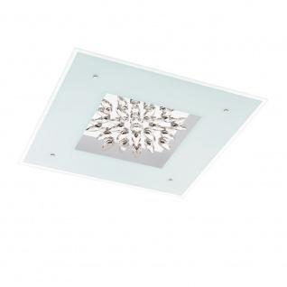 Eglo 93575 Benalua LED Wand- & Deckenleuchte 8-flammig Weiß Klar Weiß