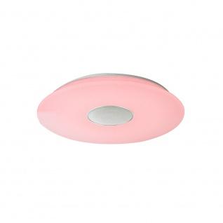 LED Deckenleuchte Nicole Lautsprecher Bluetooth CCT 3000-6000K Weiß, Opal
