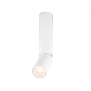 LED Deckenleuchte Luwin beweglich Spotdurchmesser 4, 5cm Weiß