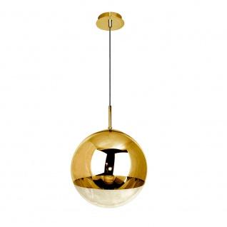 s.LUCE Fairy Spiegelkugel Pendelleuchte Ø 40cm Goldfarben Restaurantbeleuchtung - Vorschau 5
