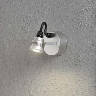 Konstsmide 7922-310 Monza LED Aussen-Wandleuchte schwenkbar massives Aluminium
