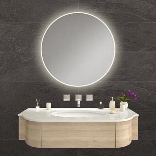 LED Bad Spiegel Helene L ?60cm mit Rundumbeleuchtung