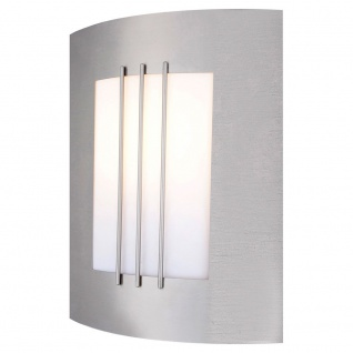 ORLANDO Außen-Wandleuchte Edelstahl Hochwertige Wandleuchte Wandlampe Aussen - Vorschau 1