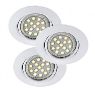 Nordlux Triton LED SMD Deckeneinbauleuchte Weiß